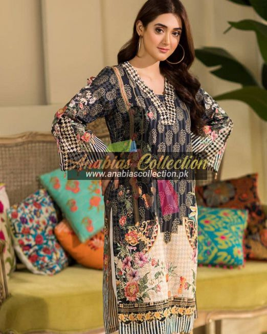 Digital-Chevron-Jacquard-Banarsi-Tunic-Kurties-Collection-D-01