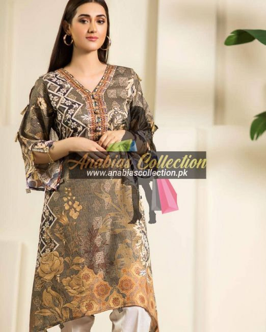 Digital-Chevron-Jacquard-Banarsi-Tunic-Kurties-Collection-D-02